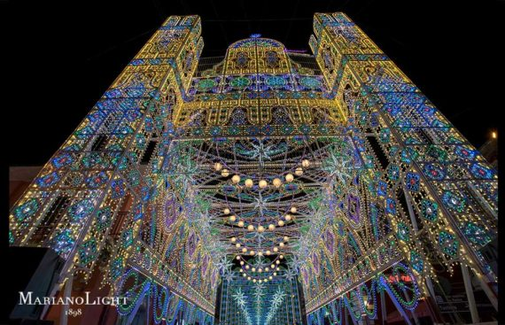 luminarie musicali festa di San Biagio Avetrana